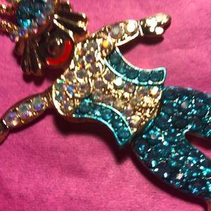 Betsey Johnson Jewelry - Betsey Johnson clown necklace